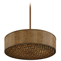 Corbett Lighting Mambo 6 Light Pendant Fluorescent in Mambo Bronze 135-46-F