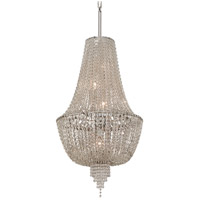 Vixen 5 Light 19 inch Polished Nickel Pendant Ceiling Light