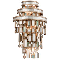 Corbett Lighting Dolcetti 3 Light Wall Sconce in Dolcetti Silver 142-13