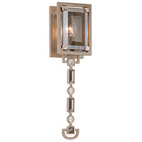 Paparazzi 1 Light 4 inch Silver Leaf Wall Sconce Wall Light