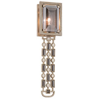 Paparazzi 1 Light 5 inch Silver Leaf Wall Sconce Wall Light