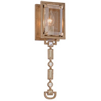 Paparazzi 1 Light 4 inch Topaz Leaf Wall Sconce Wall Light