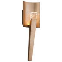 Stiletto LED 5 inch Champagne Silver Leaf Wall Sconce Wall Light