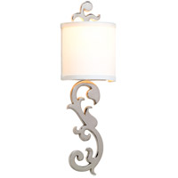 Corbett Lighting Romeo 1 Light Wall Sconce in Polished Nickel 152-11