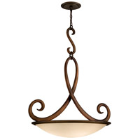 Corbett Lighting Dauphine 4 Light Pendant in Bronze 153-44