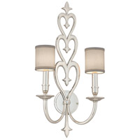 Corbett Lighting Heart Throb 2 Light Wall Sconce in Polished Nickel 160-12