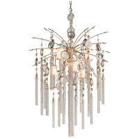 Bliss 7 Light 28 inch Topaz Leaf Pendant Ceiling Light
