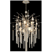 Bliss 9 Light 36 inch Topaz Leaf Pendant Ceiling Light