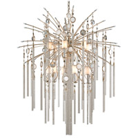 Corbett Lighting Bliss 13 Light Pendant in Topaz Leaf 162-713