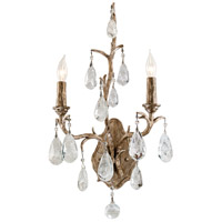 Corbett Lighting Amadeus 2 Light Wall Sconce in Vienna Bronze 163-12