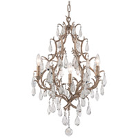 Corbett Lighting Amadeus 3 Light Chandelier in Vienna Bronze 163-03
