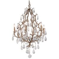 Corbett Lighting Amadeus 6 Light Chandelier in Vienna Bronze 163-06