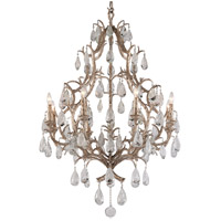 Corbett Lighting Amadeus 8 Light Chandelier in Vienna Bronze 163-08