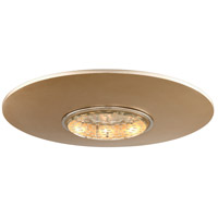 Corbett Lighting 164-312 Quasar LED 18 inch Tranquility Silver Leaf Flushmount Ceiling Light