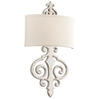 Corbett Lighting Libertine 2 Light Wall Sconce in Polished Nickel 169-12