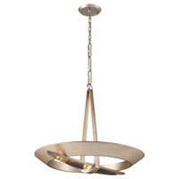 Sublime 16 Light 36 inch Tranquility Silver Leaf Pendant Ceiling Light