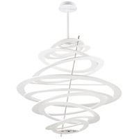 Corbett Lighting Spellbound 1 Light Pendant in Modern White 174-44