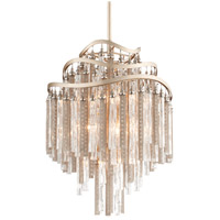 Corbett Lighting Chimera 7 Light Pendant in Tranquility Silver Leaf 176-47