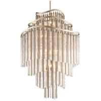Corbett Lighting Chimera 18 Light Foyer Pendant in Tranquility Silver Leaf 176-718