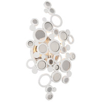 Corbett Lighting Fathom 1 Light Wall Sconce in White 187-11