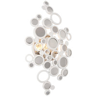 Corbett Lighting Fathom 2 Light Wall Sconce in White 187-12