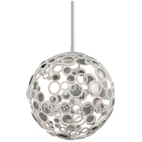 Corbett Lighting Fathom 1 Light Pendant in White 187-41