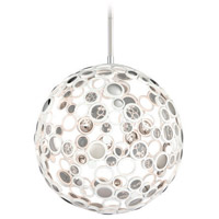 Corbett Lighting Fathom 1 Light Pendant in White 187-42