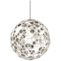 Corbett Lighting Fathom 1 Light Pendant in White 187-43