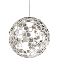 Fathom 1 Light 40 inch White Pendant Ceiling Light