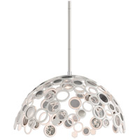 Corbett Lighting Fathom 1 Light Dining Pendant in White 187-45