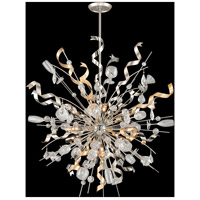 Party All Night 12 Light 50 inch Modern Silver Pendant Ceiling Light