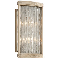 Corbett Lighting Pipe Dream 2 Light Wall Sconce in Gold 193-12