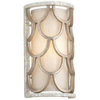 Corbett Lighting Koi 1 Light Wall Sconce in Bronze Leaf 195-11