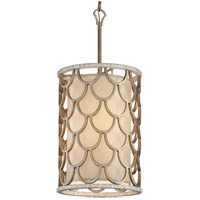 Corbett Lighting Koi 6 Light Pendant in Bronze Leaf 195-46