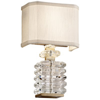 Corbett Lighting 198-12 First Date 2 Light 8 inch Silver Leaf Wall Sconce Wall Light
