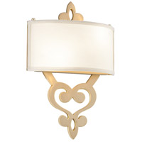 Olivia 1 Light 13 inch Satin and Polished Brass Wall Sconce Wall Light