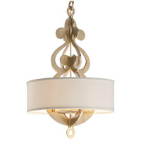 Corbett Lighting Olivia 8 Light Pendant in Satin and Polished Brass 201-46