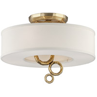 Corbett Lighting Continuum 4 Light Semi-Flush 202-34