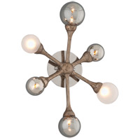 Corbett Lighting Element 6 Light Wall Sconce in Vienna Bronze 206-16