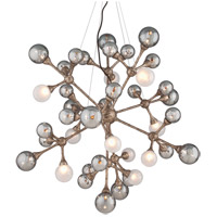 Corbett Lighting Element 40 Light Pendant in Vienna Bronze 206-440
