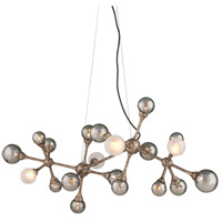 Corbett Lighting 206-520 Element 20 Light 47 inch Vienna Bronze Linear Pendant Ceiling Light