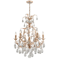Corbett Lighting Vivaldi 7 Light Chandelier in Venetian Leaf 210-07