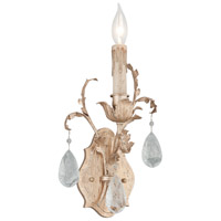 Vivaldi 1 Light 9 inch Venetian Leaf Wall Sconce Wall Light