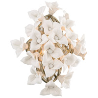 Corbett Lighting 211-12 Lily 1 Light 13 inch Enchanted Silver Leaf Wall Sconce Wall Light