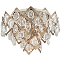 Corbett Lighting 214-33 Tiara 20 inch Vienna Bronze Semi-Flush Mount Ceiling Light
