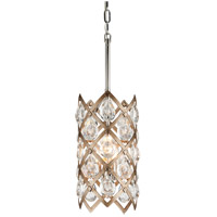 Corbett Lighting Tiara Mini Pendant - Vienna Bronze Finish with Clear Crystal Drops 214-43