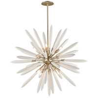 Corbett Lighting Altitude Pendant - 46 inch - Modern Silver Leaf Finish with Bone China Shades 217-48