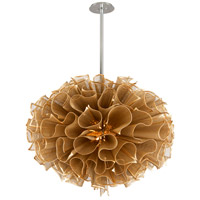 Corbett Lighting Pulse LED Pendant - 46 inch - Gold Leaf Finish 218-72