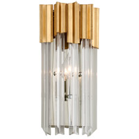 Charisma 7 inch Gold Leaf ADA Wall Sconce Wall Light