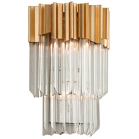 Charisma 10 inch Gold Leaf Wall Sconce Wall Light